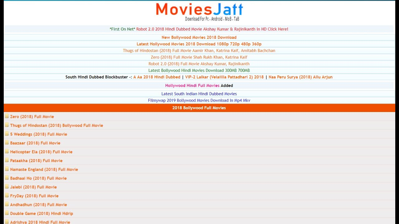 Moviesjatt Download Movies Hollywood And Bollywood Movies