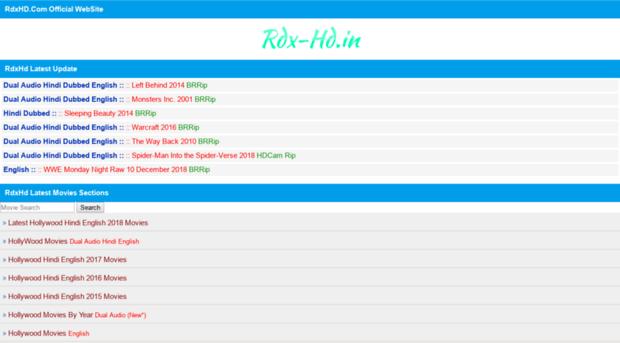 Rdxhd Movies Download