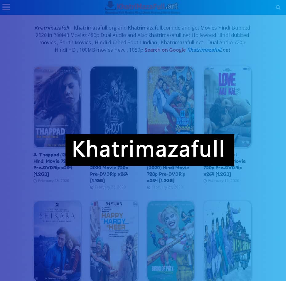 Khatrimazafull Bollywood Movies