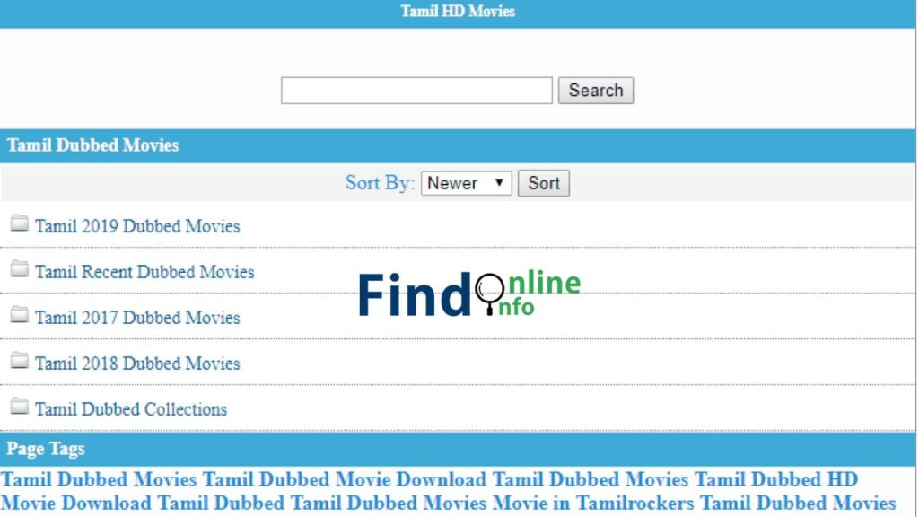 Kuttymovies Tamil Dubbed Movies