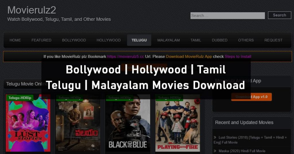 Movierulz2 Website