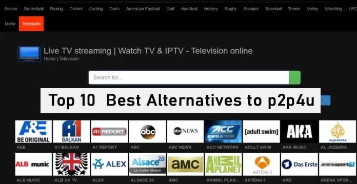 Top 10 Best Alternatives to p2p4u
