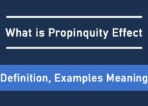 What is Propinquity Effect