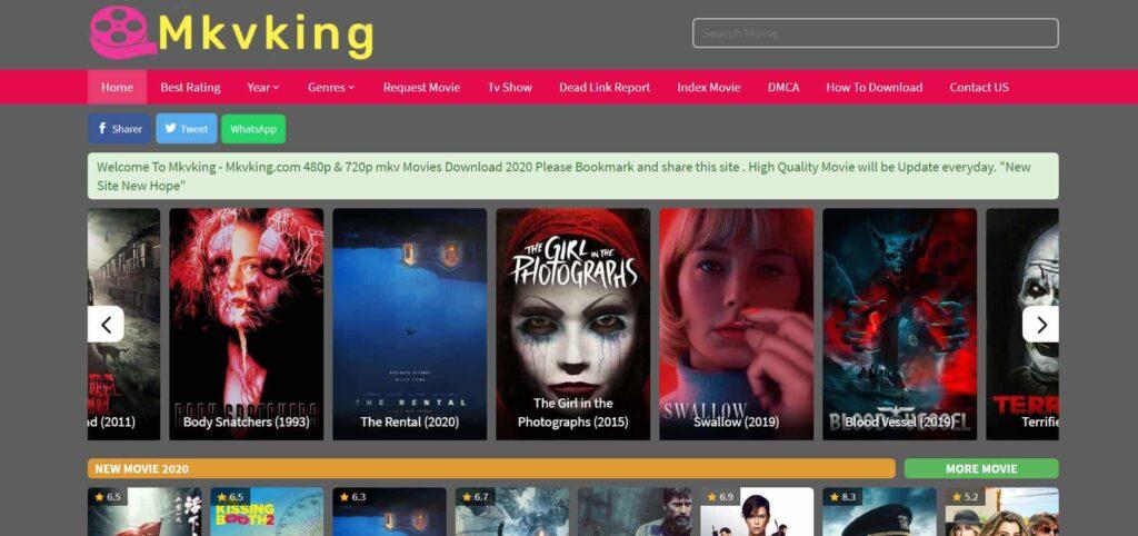 Mkvking Website