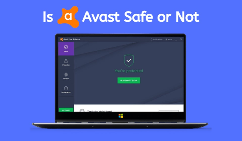 avast antivirus safe or not