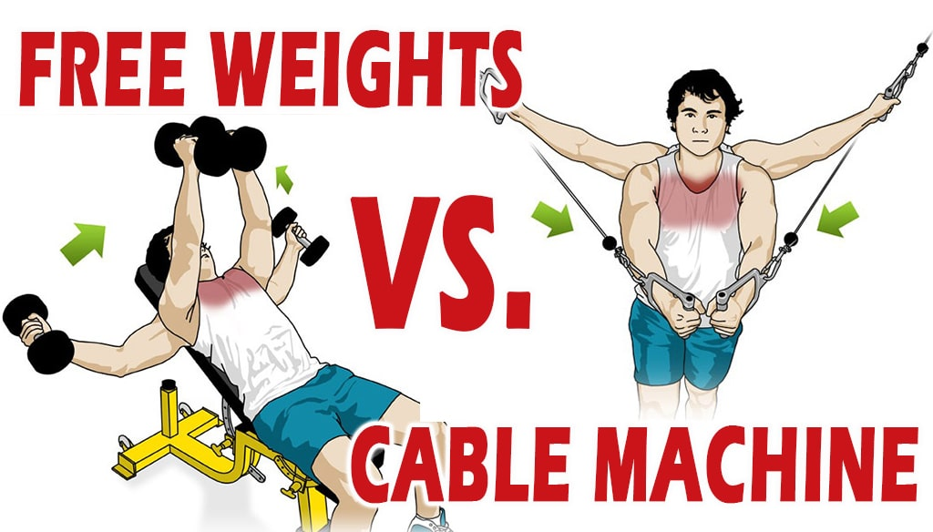 Cable Machines vs Free Weights