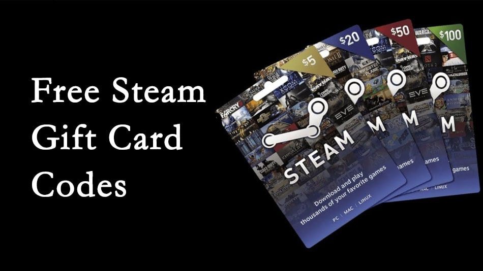 Free Steam Gift Card Codes