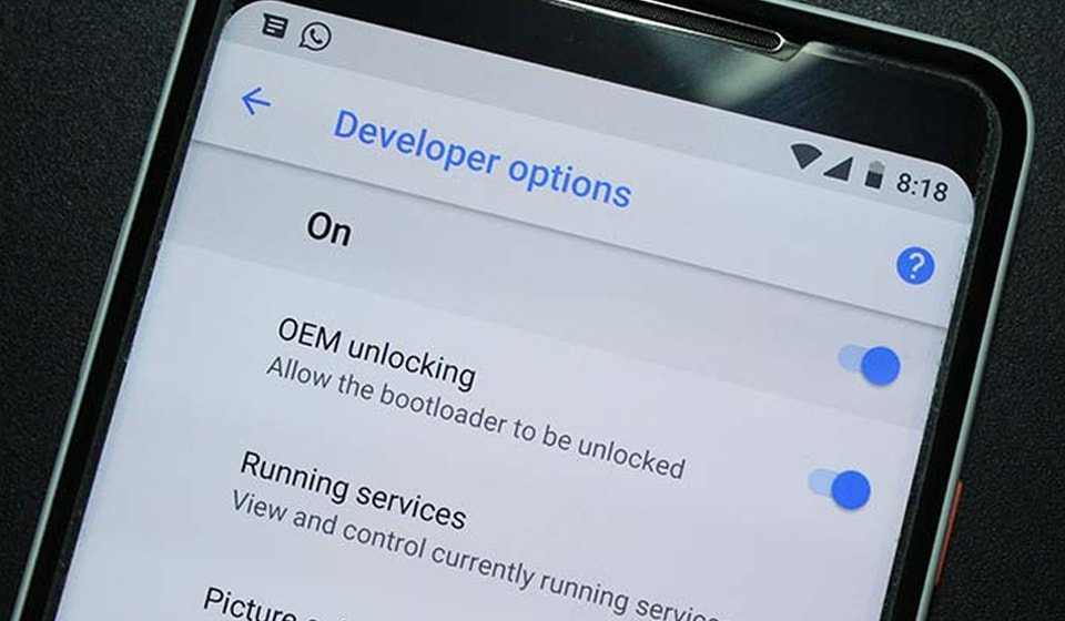How to enable OEM unlocking on Android