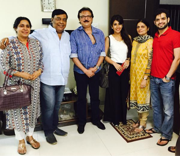 karan patel family